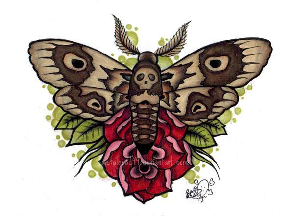 Moth by Metalhead99