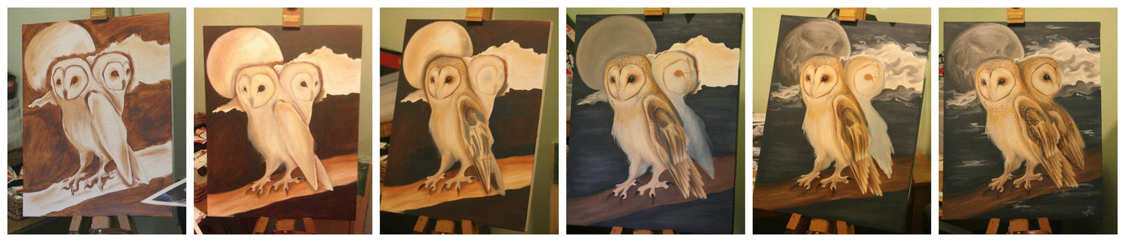Barn Owl WIP