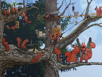 Dreams in the Treetops by Holt5