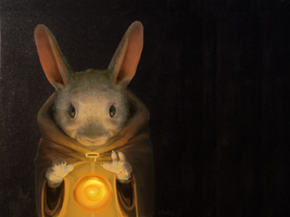 Bunny Wizard by Holt5