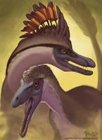 Velociraptor Pair by mirroreyesserval