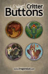 Lil' Winged Critter Buttons