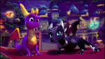 . [ Spyro Reignited Trilogy ] . Cynder + Sting