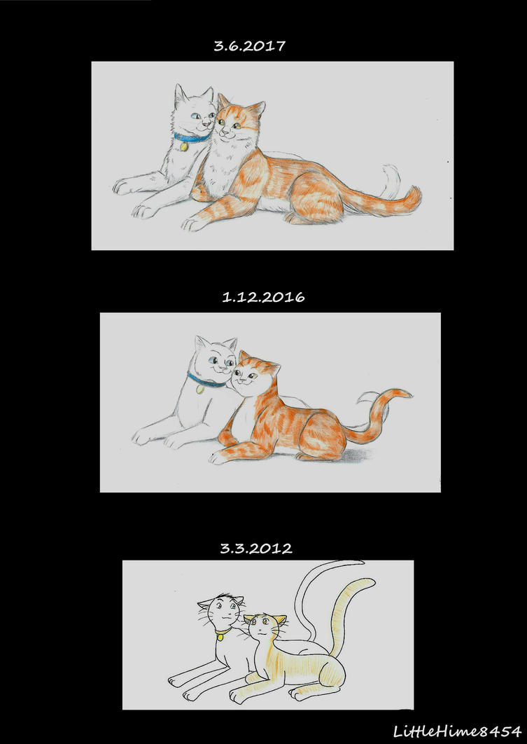 Draw this again Cats by LittleHime8454