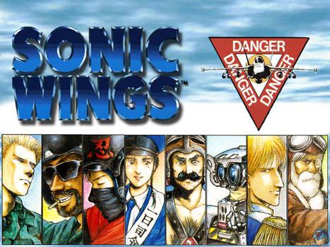 Sonic Wings Wallpaper 2