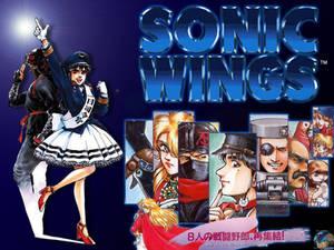 Sonic Wings Wallpaper 3