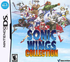 Sonic Wings Collection - Nintendo DS Cover