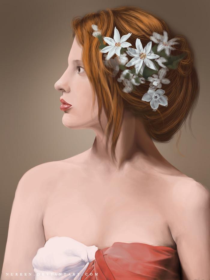 Portrait Of A Girl by nureen