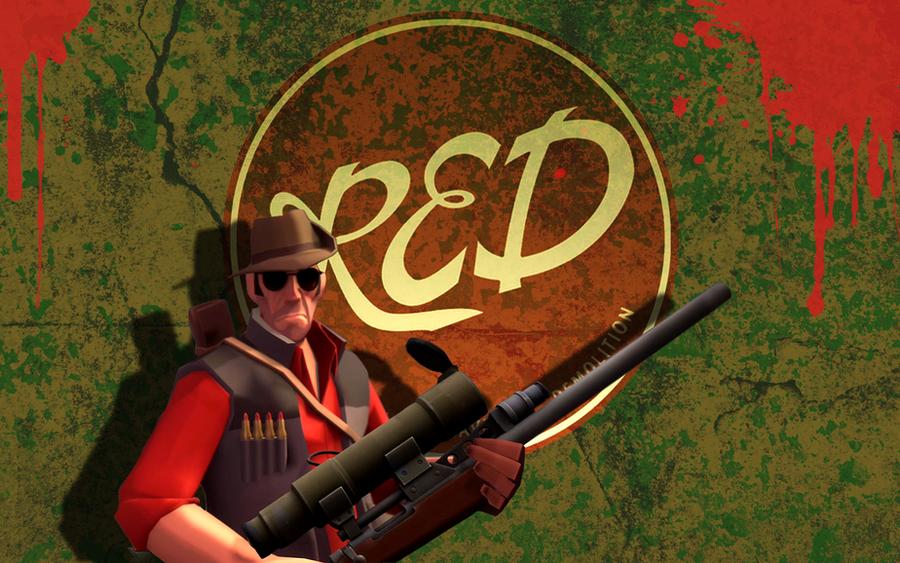 TF2 - wallpaper - sniper by Thecheesepowerful on DeviantArt