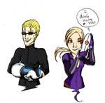 Portal Evil 5 -Wesker and Jill