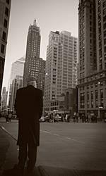 Quiet Chicago Steet by guessimdoinfine