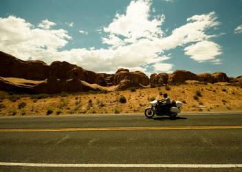 Desert Biker by guessimdoinfine