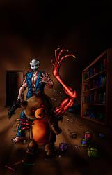 Splatterhouse 3 - Teddy Bear by Decepticoin