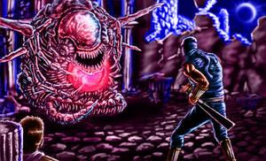 Ninja Gaiden - Final Boss