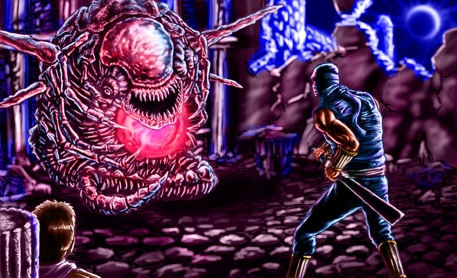 Ninja Gaiden Final Boss By Decepticoin On Deviantart