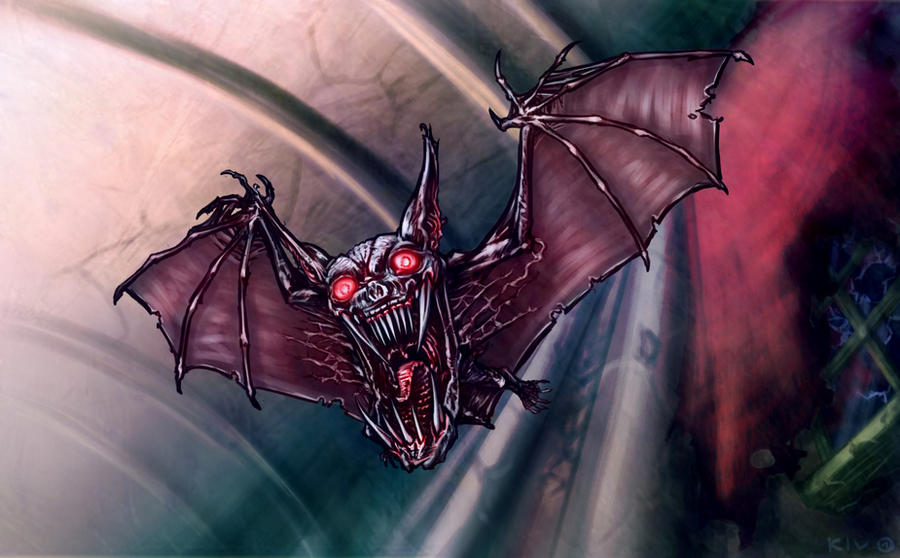 Castlevania Bosses - Phantom Bat by Decepticoin