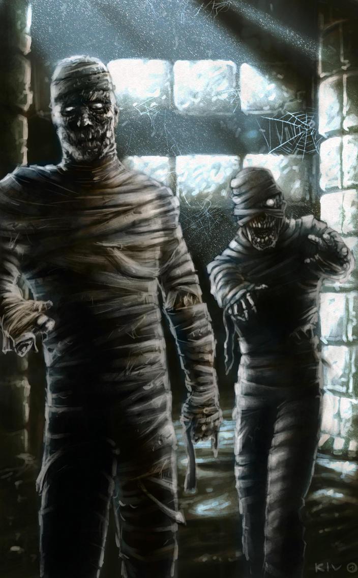 Castlevania Bosses - Mummies by Decepticoin