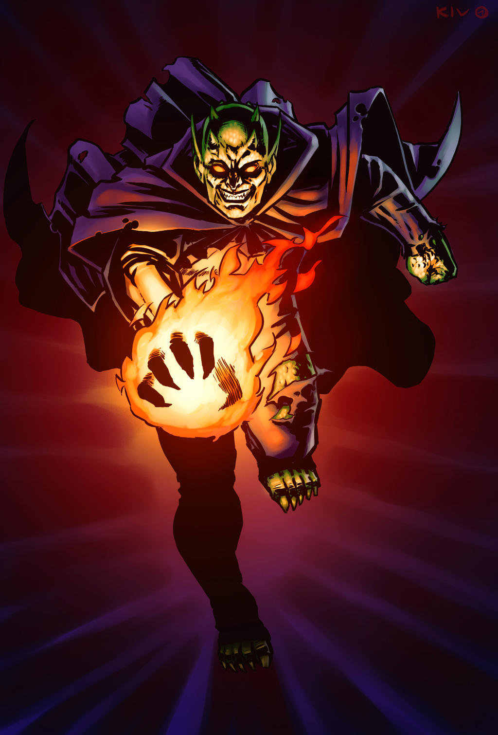 Ultimate Green Goblin