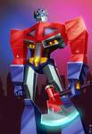 Transformers Animated - Optimus Prime