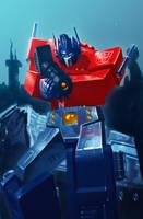 Optimus Prime by Decepticoin