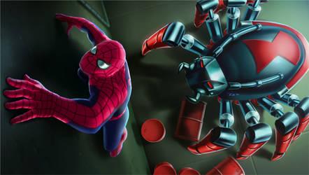 Spider-Man TAS - Black Widow by Decepticoin