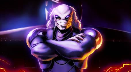 Time Diver Eon Man - Final Boss by Decepticoin