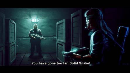 Metal Gear 1 - Big Boss by Decepticoin