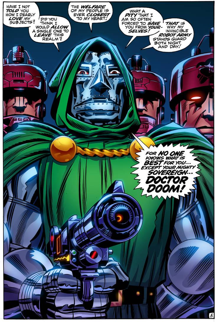 Jack Kirby's Dr Doom by Decepticoin