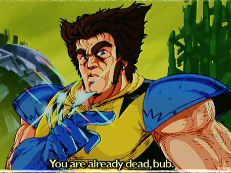 Wolverine as Holuto No Ken character