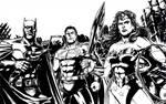 DC Trinity B/W