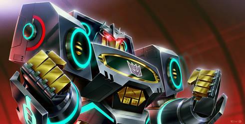 Transformers Animated - Soundwave