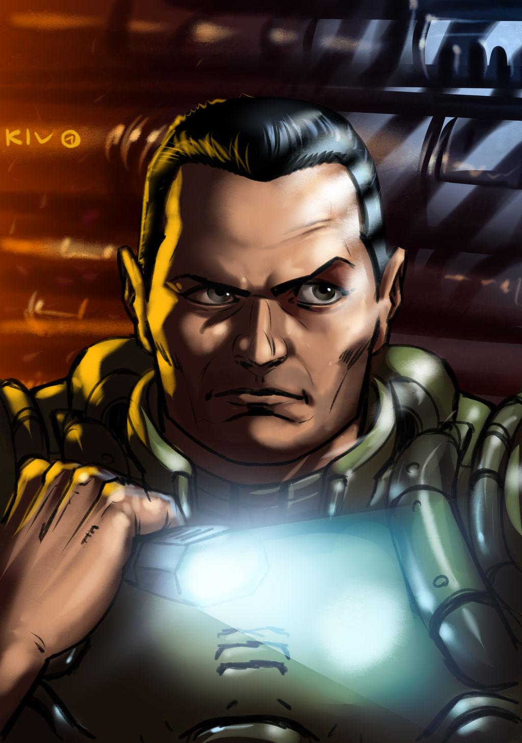 Doom 3 Guy