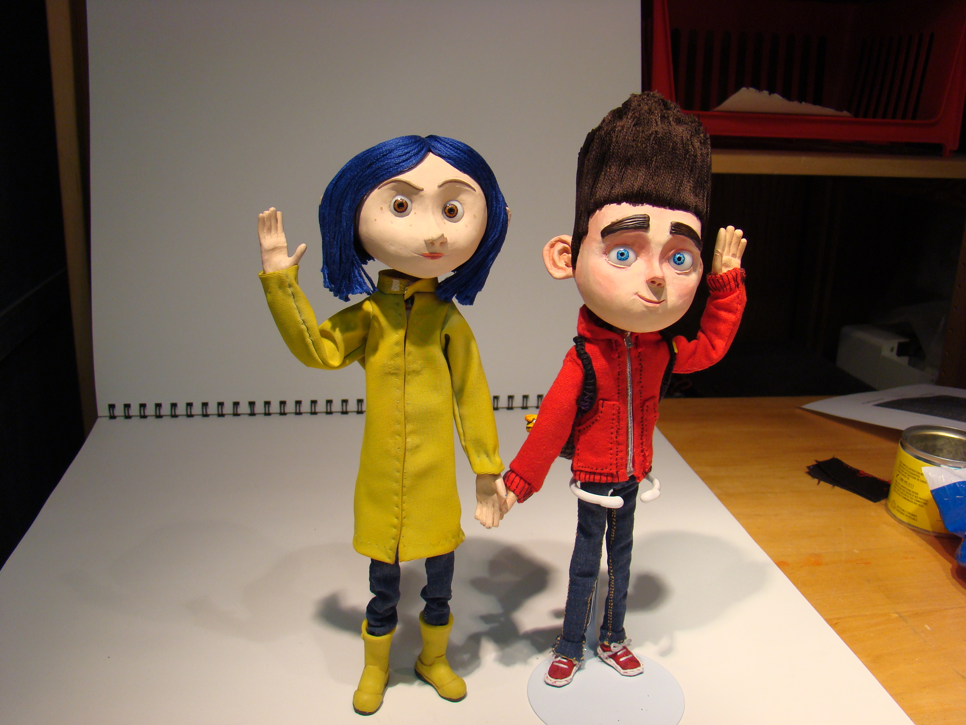 Norman and Coraline by Kristheblade on DeviantArt