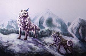 Up to the Mountains by sercreepz