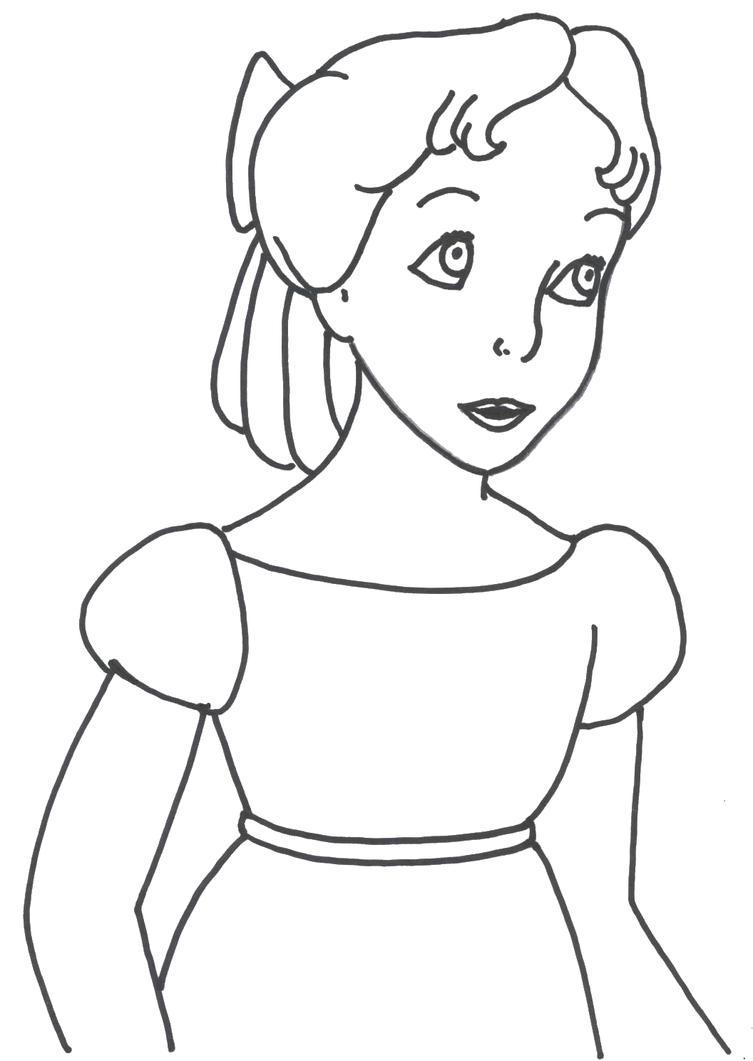 princess tiger lily coloring pages - photo#12