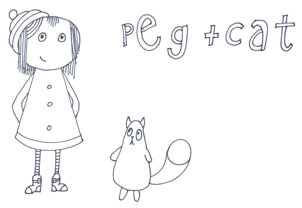 peg cat coloring pages - photo#6