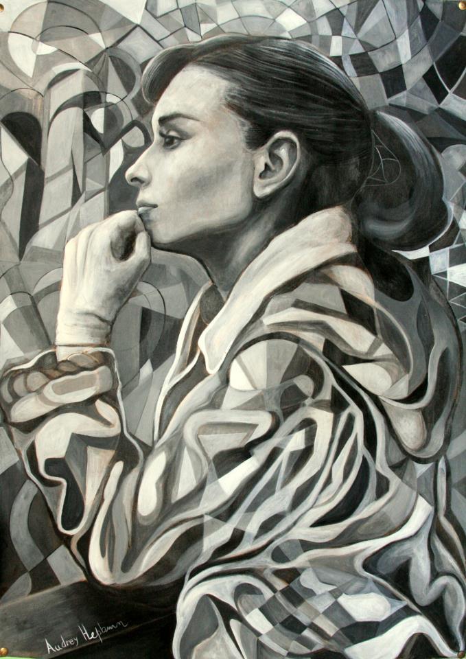 Audrey Hepburn by fabricio-ferrero