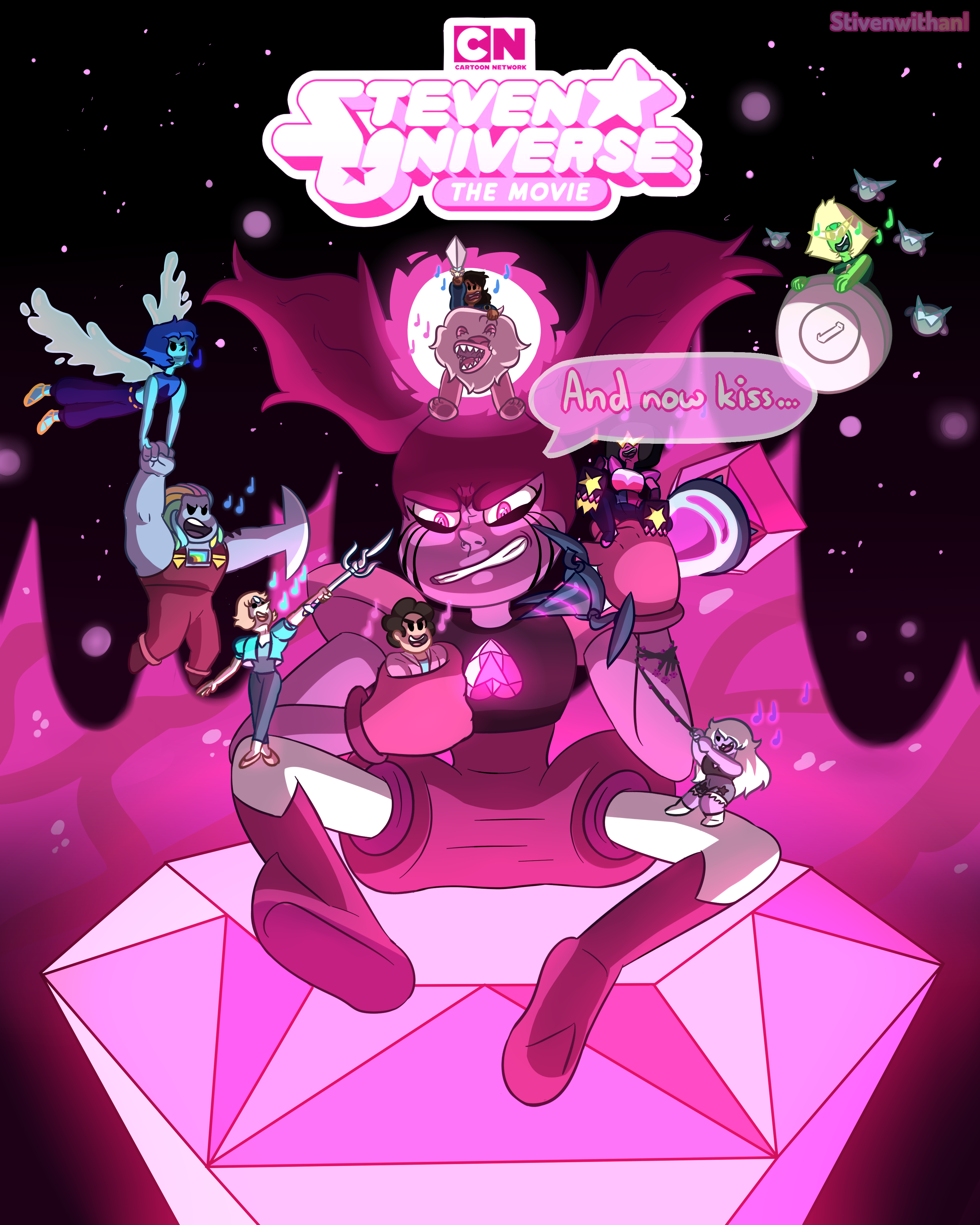 Steven Universe The Movie Poster By Stivenwithani On Deviantart