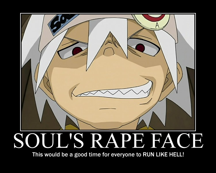 Anime reaction faces soul eater