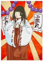 ::Japanese Priestess:: by Kinbarri