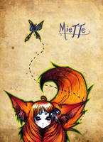 Miette Fanart by Kinbarri
