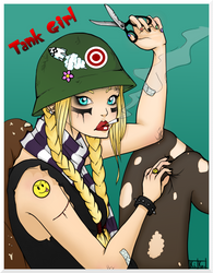 Tank Girl Commission by Kinbarri