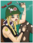 Tank Girl Commission by Kinbarri