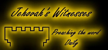 Jehovahs Witnesses Preachers By