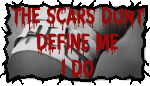Self Harm Scars Stamp by Partyninja88