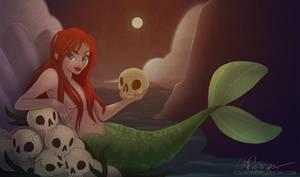 Mermaid Painting by tweakfox