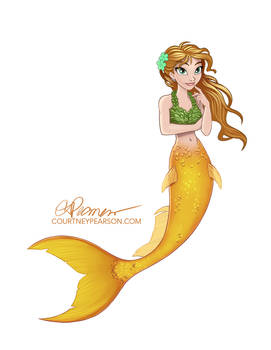 Mermaid in Rescue Sirens Style