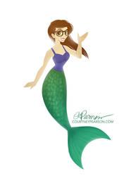 Faith on the Bass Mermaid
