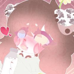 Milk~ | Icon doodle by KattyKatAJ