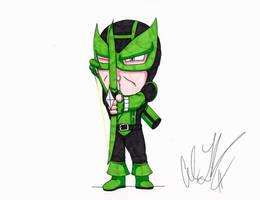 Green Lantern Hawkeye by toonartist